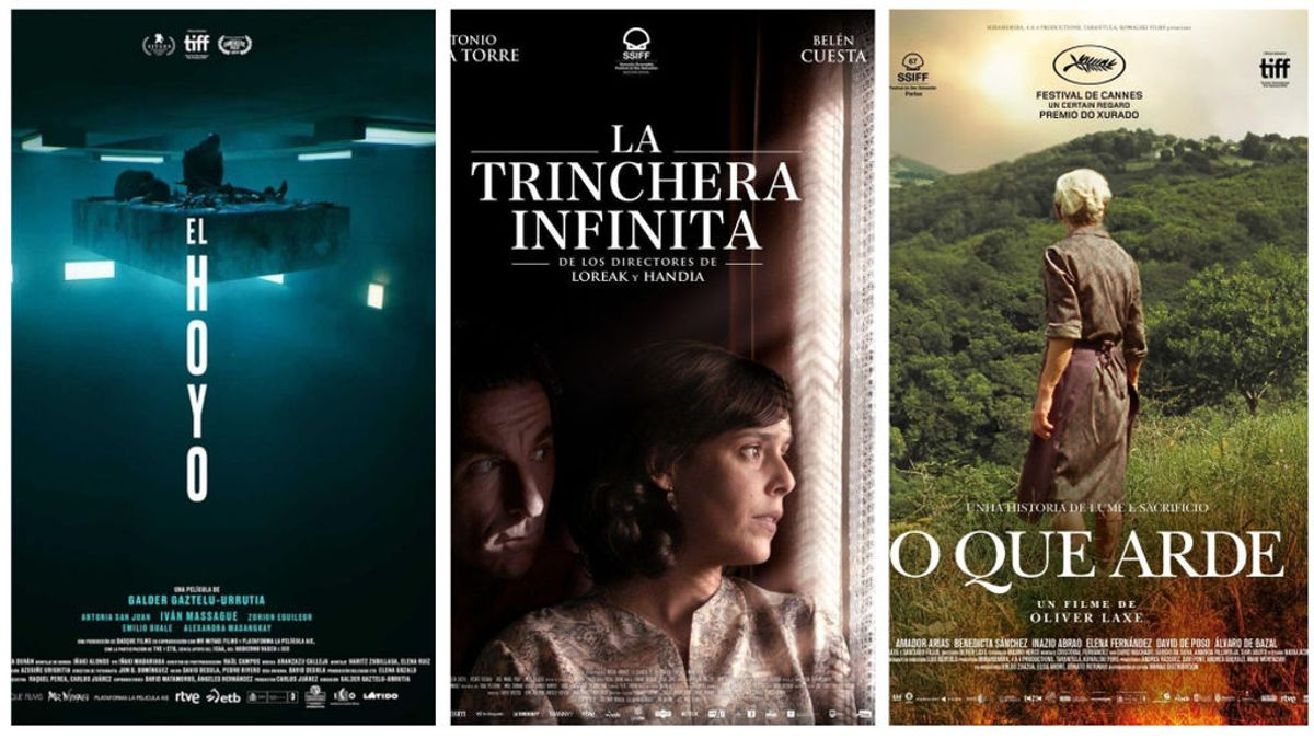 Las películas españolas preseleccionadas para los Óscar: 'El hoyo', 'La trinchera infinita' y 'O que Arde'