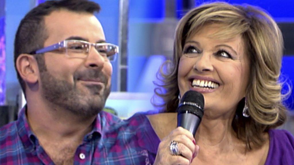 El debut de María Teresa Campos en 'Sálvame'