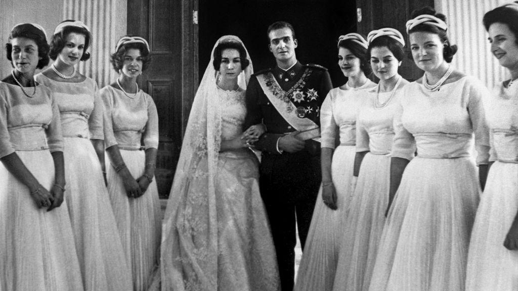 Los reyes eméritos se casaron el 4 de mayo de 1962