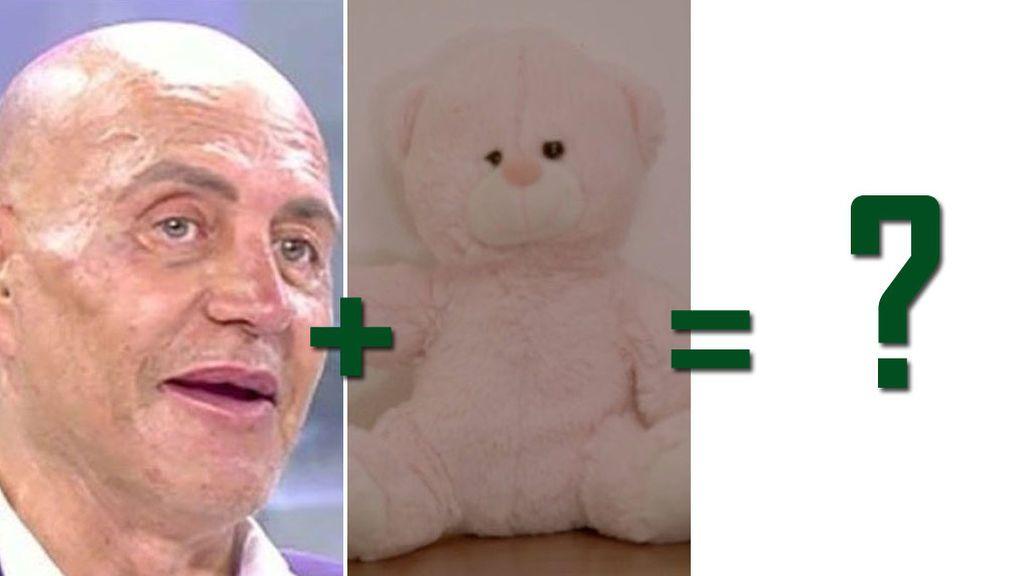 ¿Qué tienen en común Kiko Matamoros y Rosito, el oso rosa de Mayka?