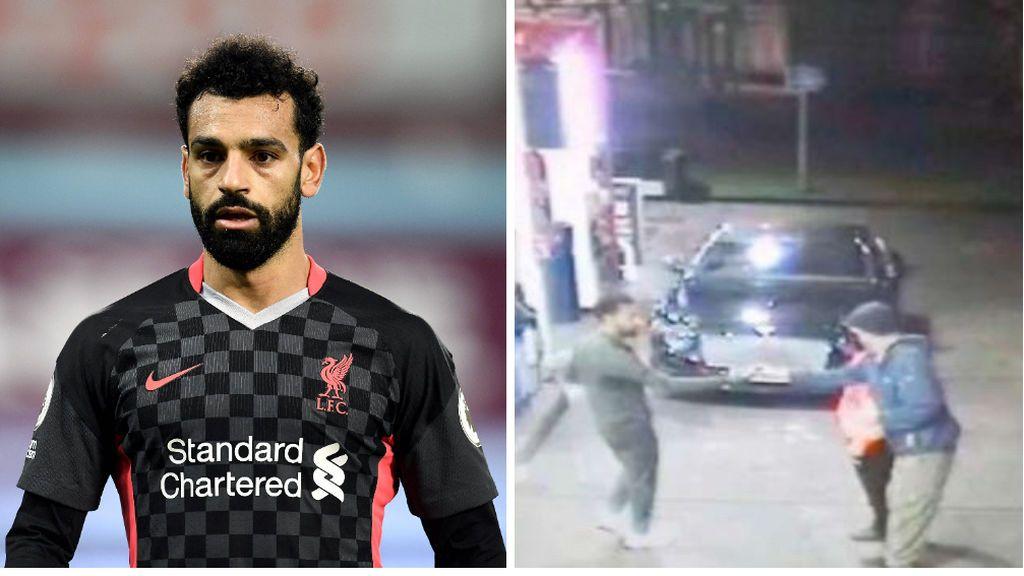 Salah salva a un indigente que estaba siendo acosado por un grupo de jóvenes: en Inglaterra lo consideran un héroe