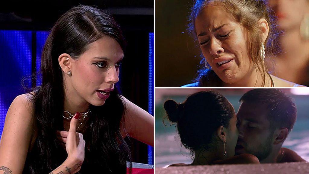 Alejandra Rubio critica los besos de Tom y Sandra