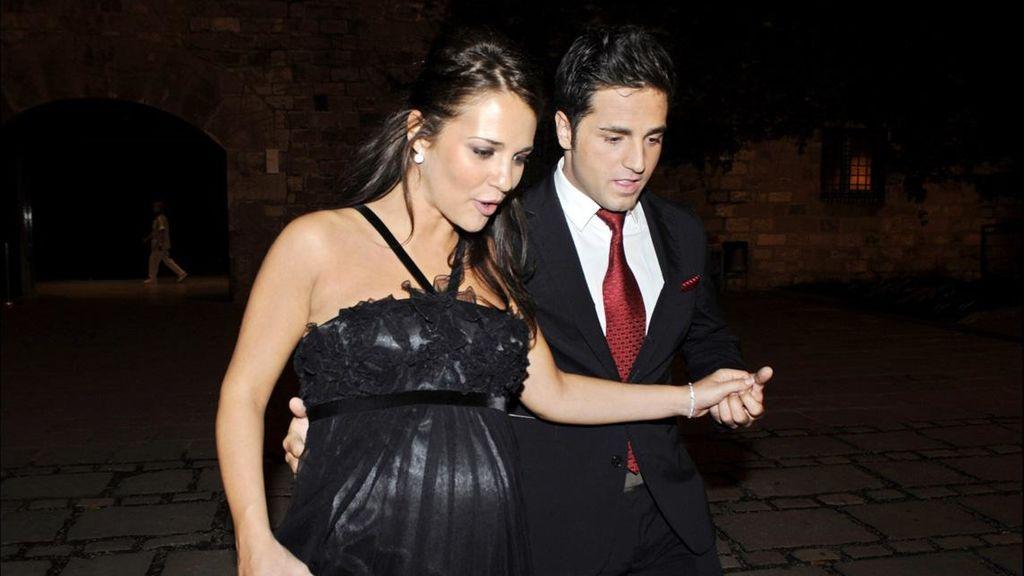 Paula y David anunciaron que iban a ser padres a principios del 2008.