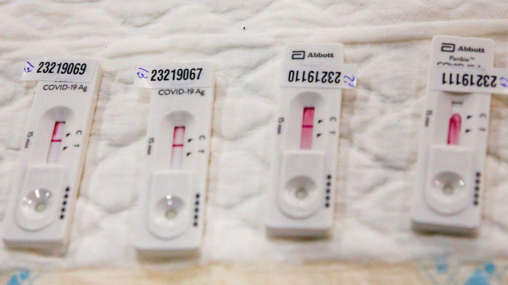Sanidad cuenta como casos los positivos en test de antígenos