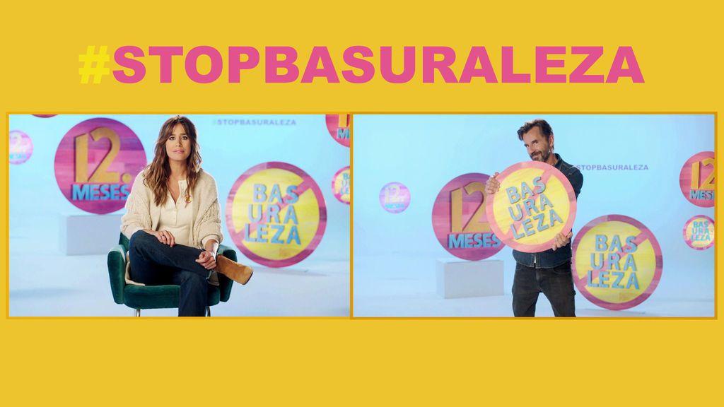 Isabel Jiménez y Santi Millán lideran #StopBasuraleza, campaña de 12 Meses con el proyecto LIBERA para luchar contra el abandono de residuos en espacios naturales y potenciar el reciclaje
