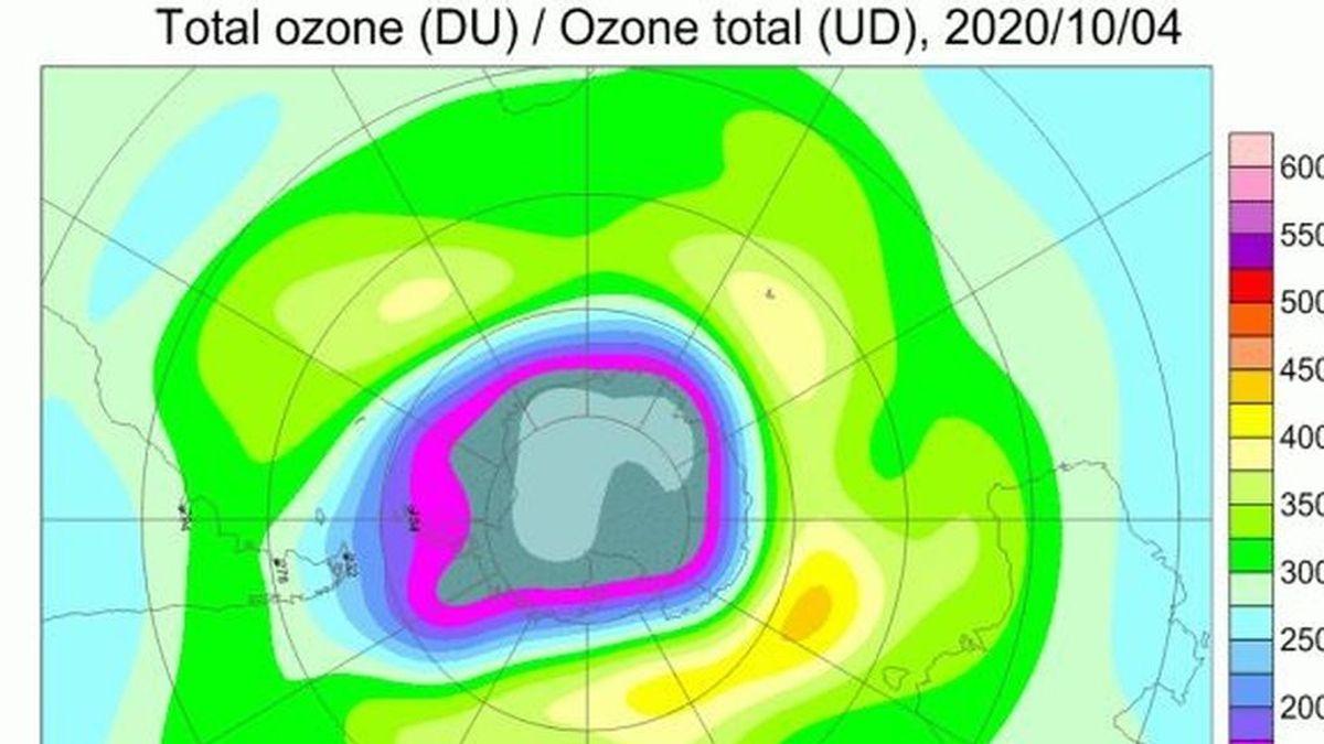 El agujero de ozono de la Tierra alcanza su tamaño máximo