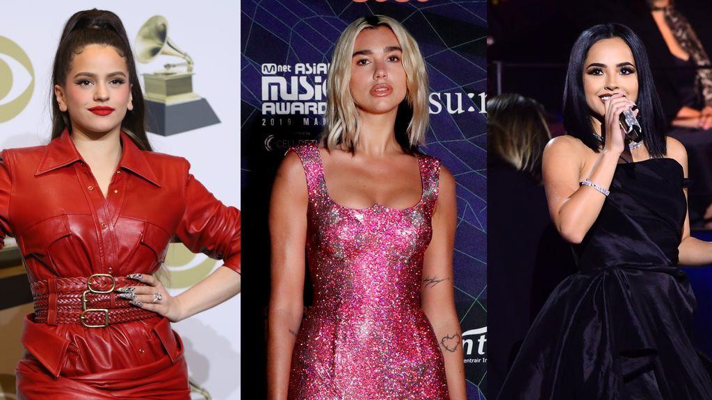 Rosalía, Dua Lipa o Becky G entre las celebrities más 'peligrosas' de Internet