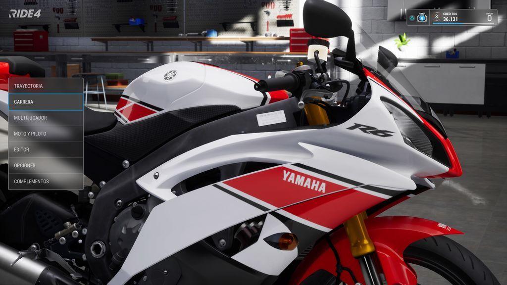 Yamaha R6 - Ride 4