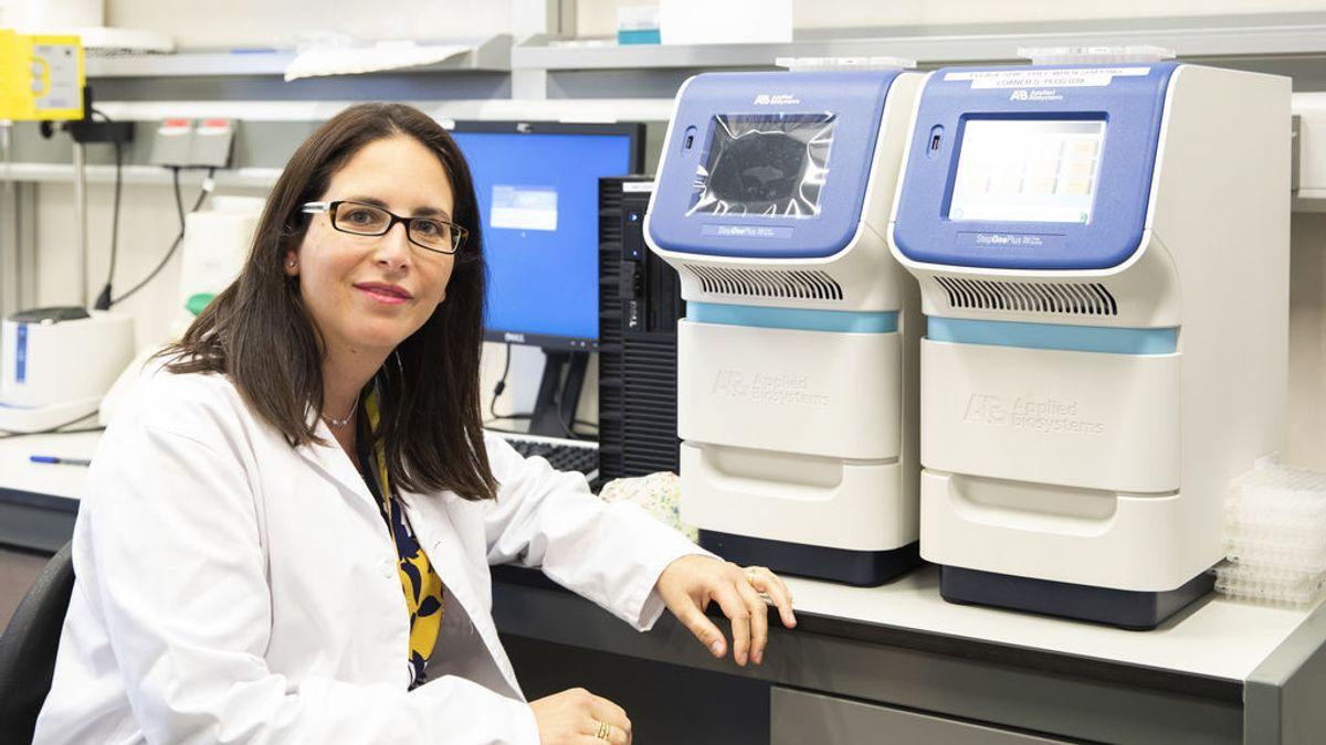 """Juana Delgado, investigadora: """"Queremos medir la carga viral en el aire para poder alertar de los brotes antes de que se produzcan"""""""