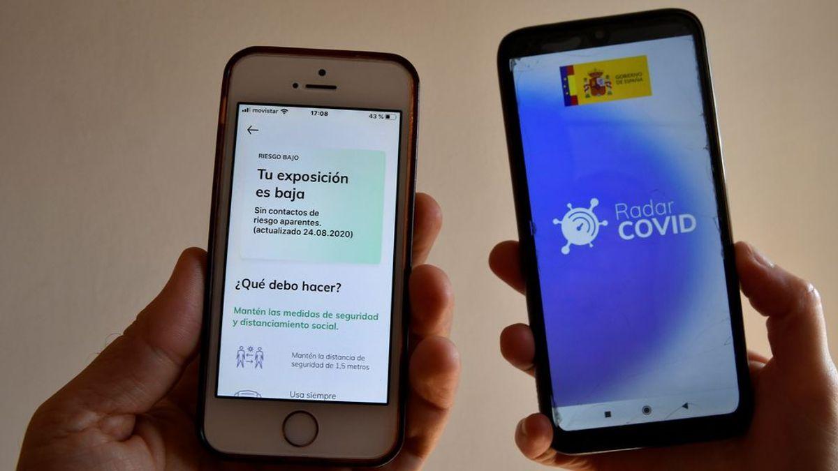 """La aplicación 'Radar COVID' """"no registra datos personales y es segura"""", según confirma la OCU"""