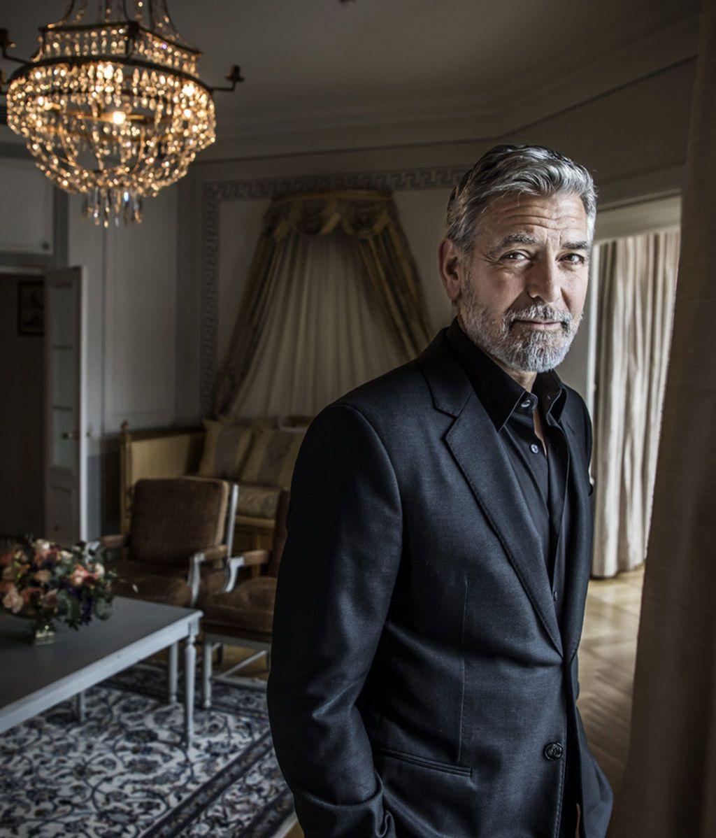 George Clooney, en una visita a Estocolmo (Suecia) en 2019