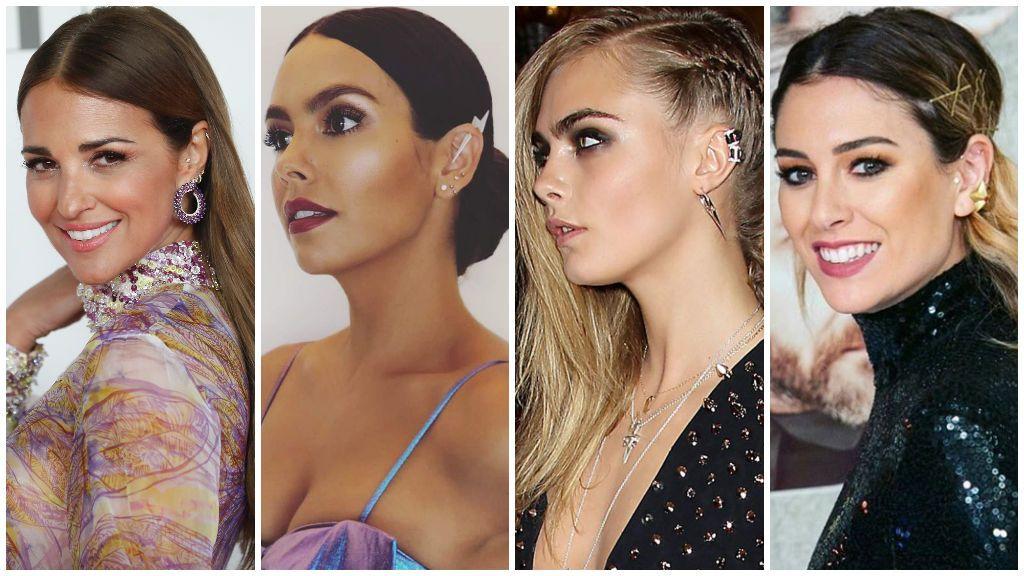 De Paula Echevarría a Blanca Suarez: las famosas se apuntan al los piercings en la oreja.