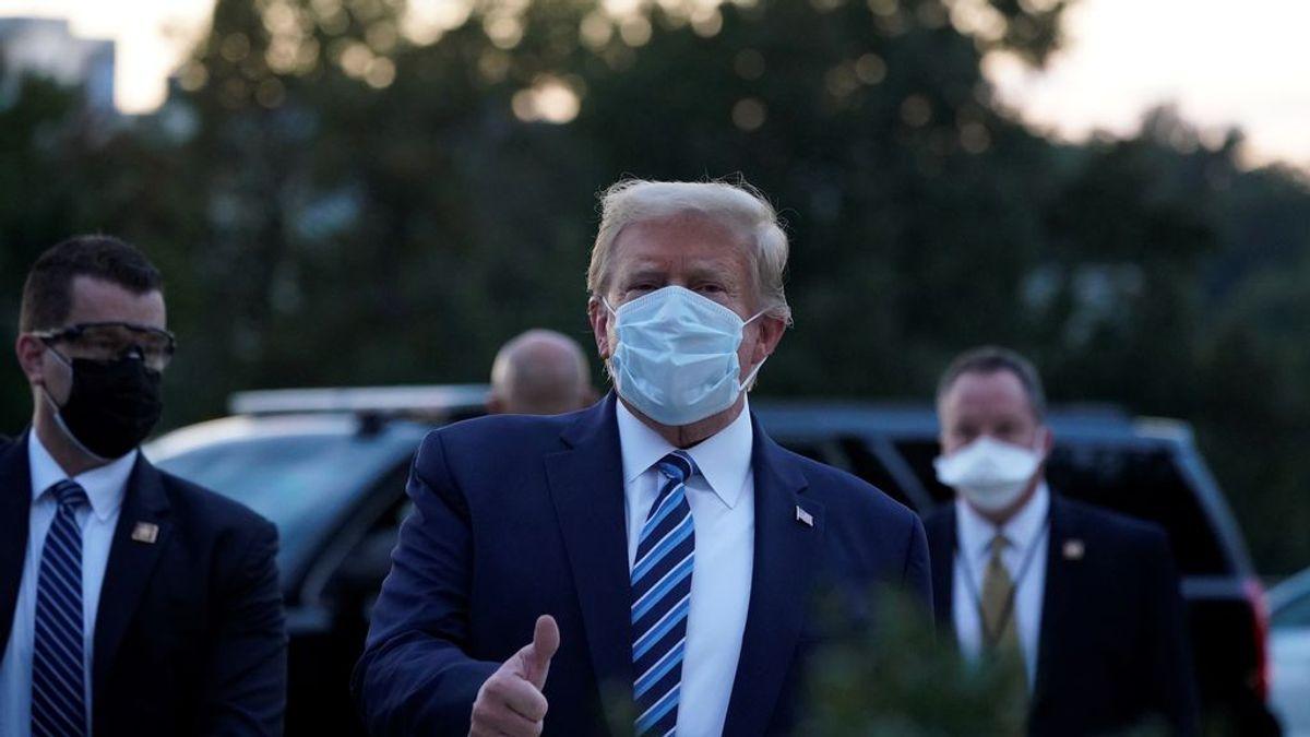 El cóctel experimental que se ha tomado Trump para el coronavirus: en fase de ensayos y sin autorización formal