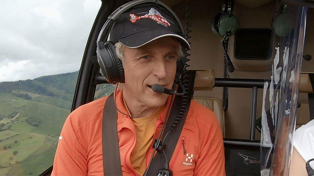 Jesús Calleja, emocionado en 'Volando voy'