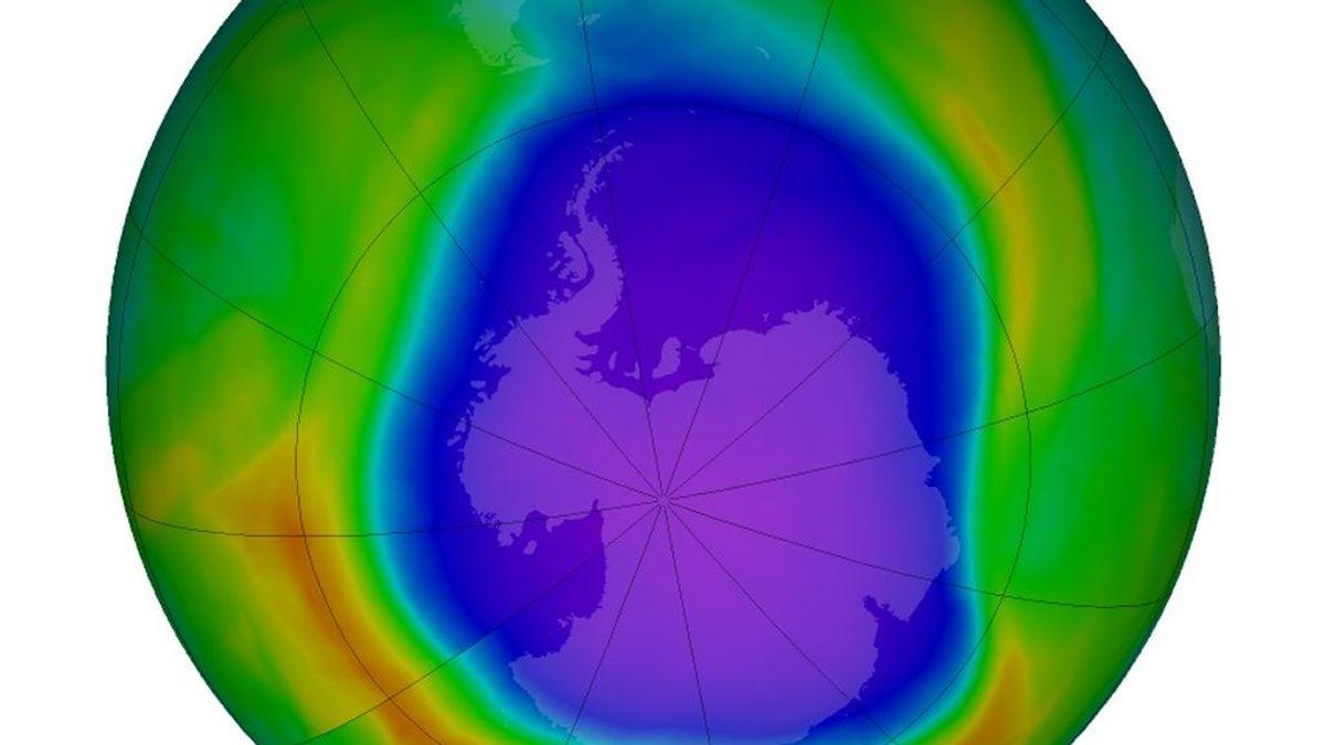 El agujero de ozono alcanza su máxima extensión: los factores que lo agravan