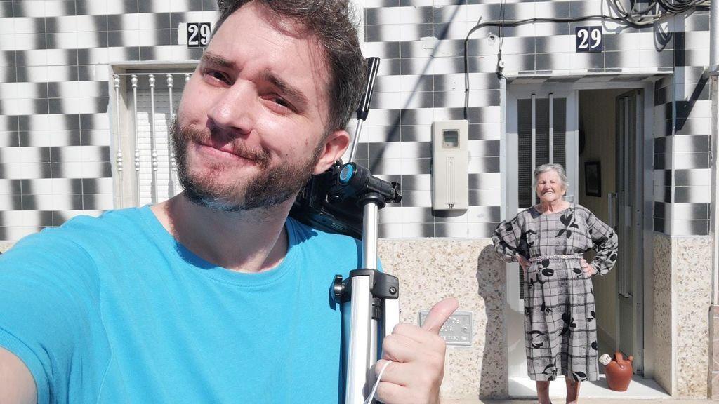 """Israel, el nieto de la 'Meryl Streep de Badajoz': """""""