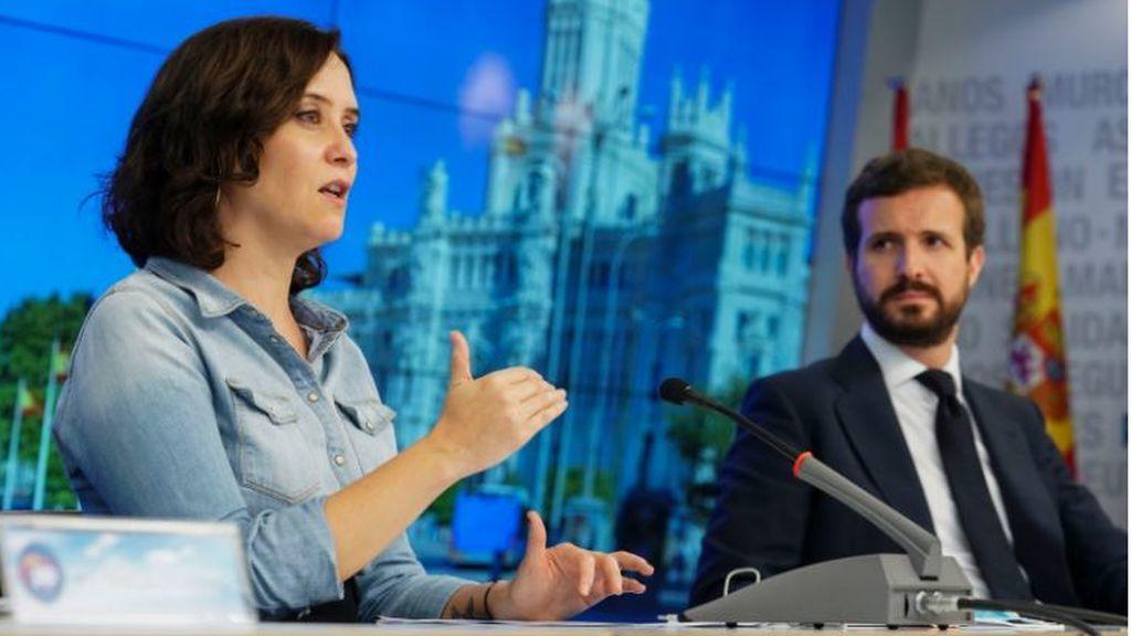 """Casado celebra que la justicia tumbe el cierre de Madrid: """"La  situación de Illa es insostenible"""""""