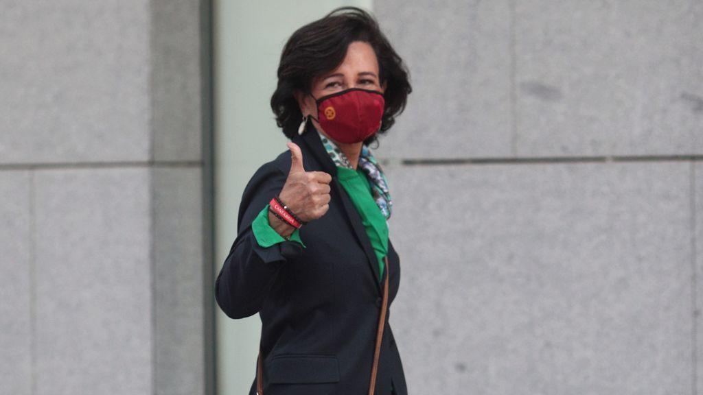 Botín niega presiones para que el Banco Santander comprara el  Popular