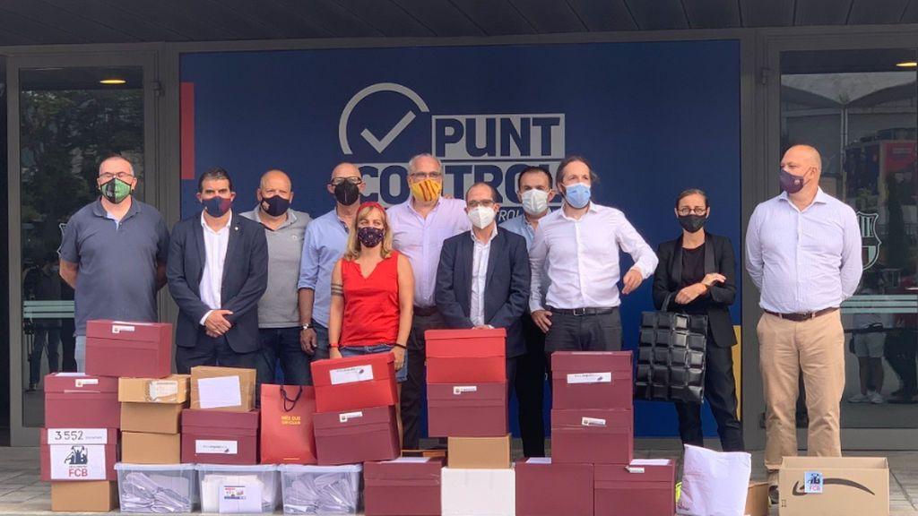 El Barça denuncia ante la Guardia Civil una posible falsificación de firmas en la moción de censura
