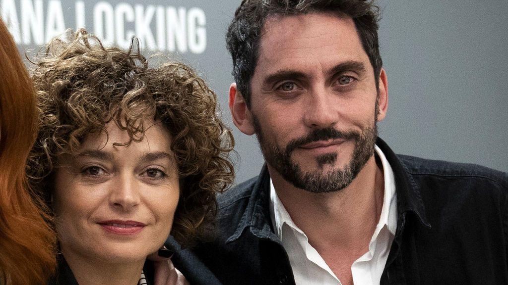 Paco León y su mujer, Anna R. Costa, en 2018