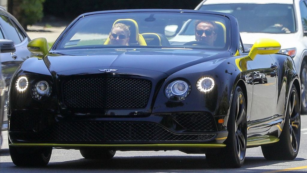 schwarzenegger bentley