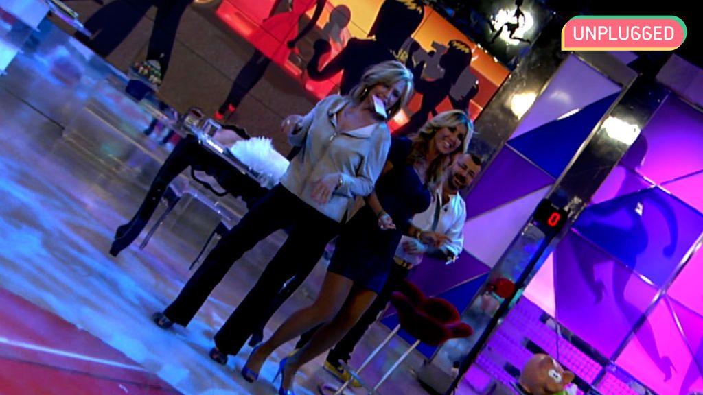Lydia Lozano y Malena Gracia en 'Sálvame'