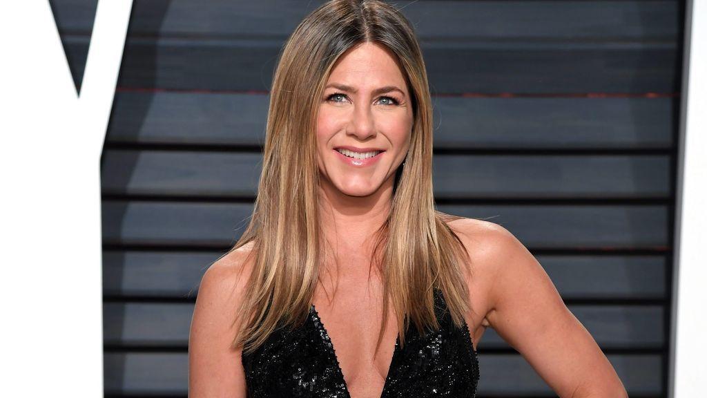 También, Jennifer Aniston es muy dada a aparecer en los photocalls sin sujetador.