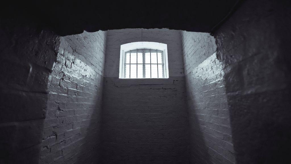 Una celda de una prisión
