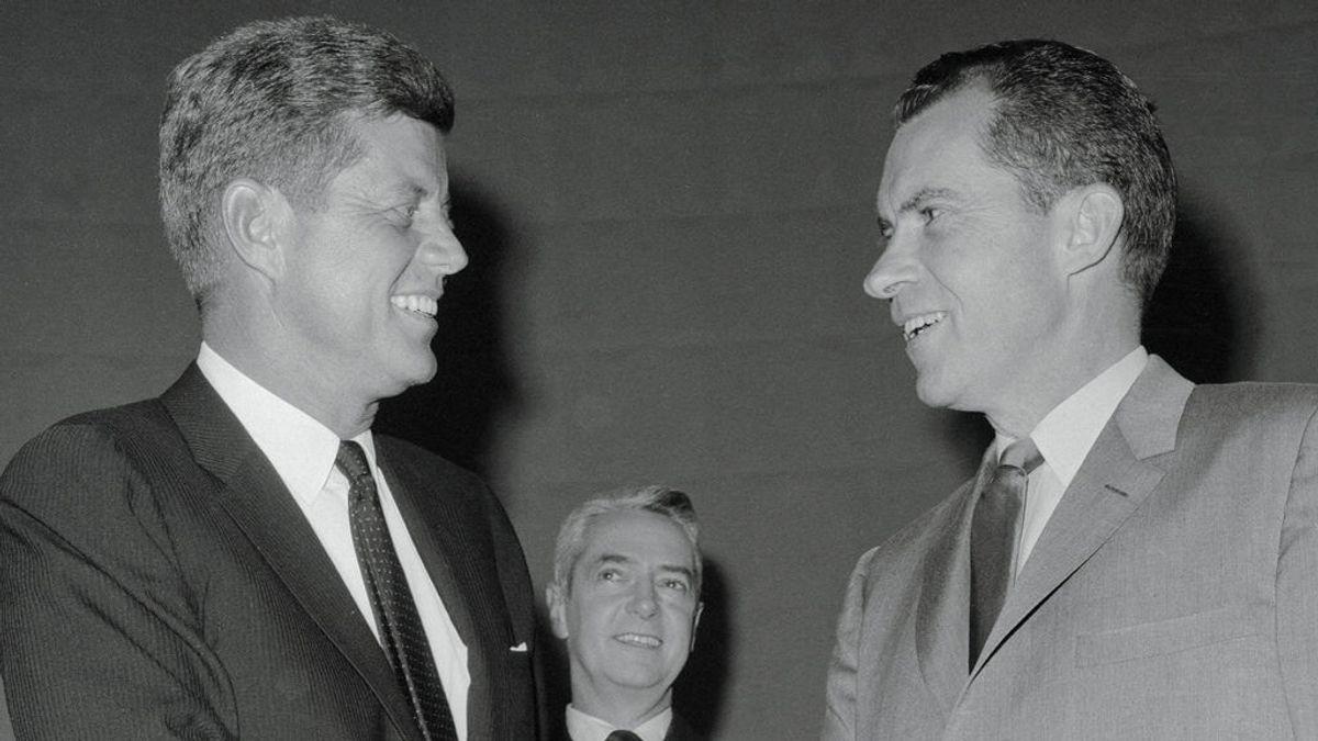 """""""Dejad que os maquillen"""": Lo que aprendió Nixon de su mítica derrota ante Kennedy en el primer debate en TV"""