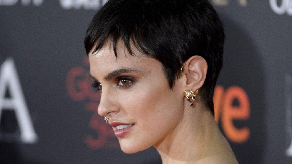 La actriz española Verónica Echegui también tiene un estilo muy particular.