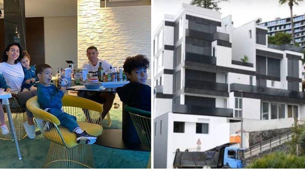 La casa de Cristiano Ronaldo y Georgina Rodríguez en Madeira, asaltada por unos ladrones