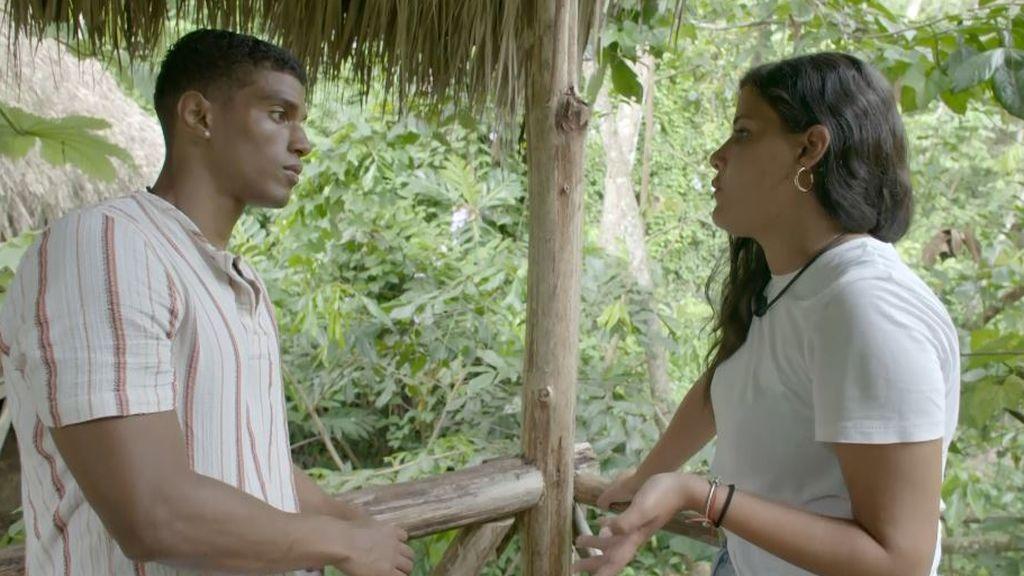 Inédito: Patry llora en su primera cita y acaba siendo consolada por Jorge Javier
