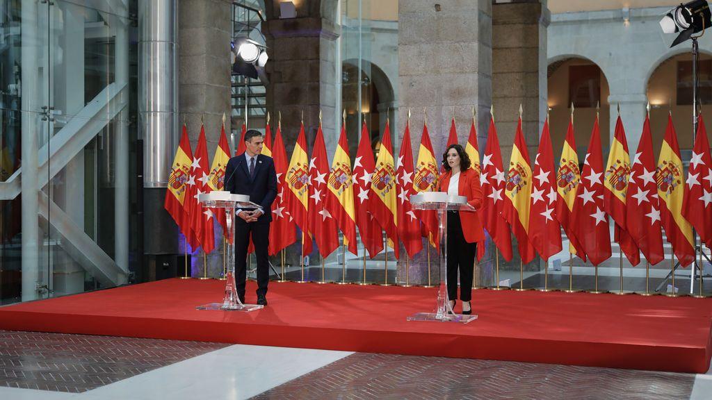 Ultimátum de Sánchez a Ayuso: o asume las medidas o decreta el estado de alarma