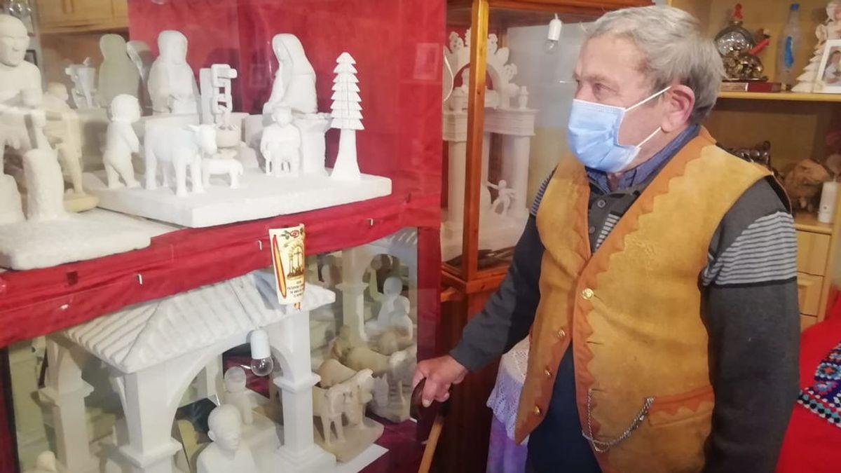 Crescencio Garrido: El pastor con alma de escultor que ocultó su pasión por tallar la piedra