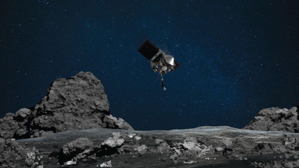 Descubren que el asteroide Bennu contiene elementos esenciales para la vida