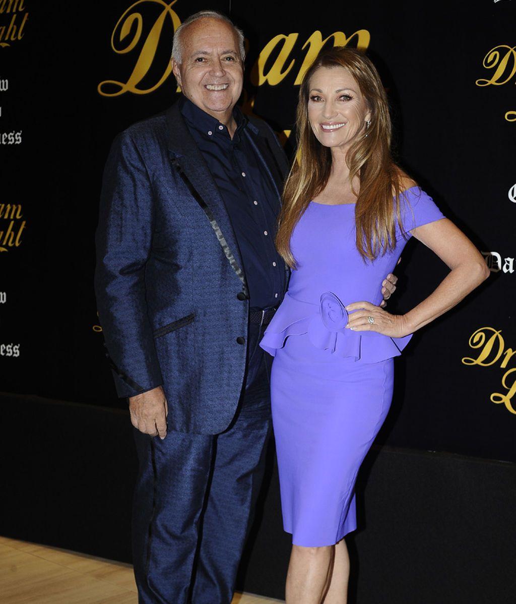 José Luis Moreno con Jane Seymor