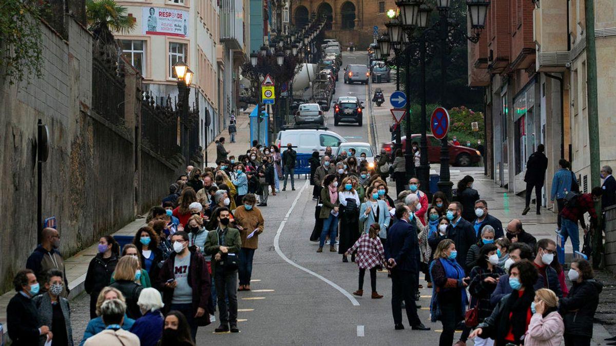 Asturias endurece las medidas contra el coronavirus: la mascarilla, obligatoria en los gimnasios
