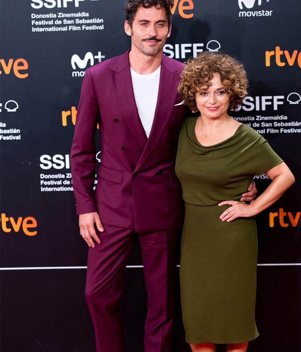 Paco León y Anna R. Costa en el Festival de San Sebastián