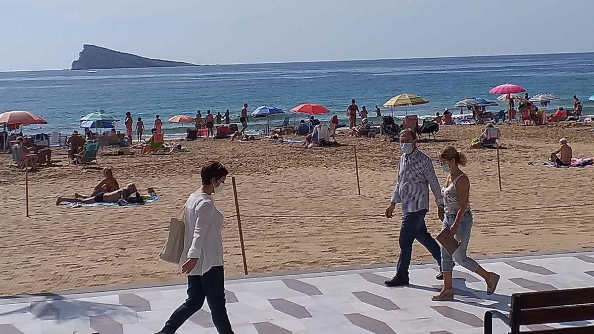 Paseo y playa Benidorm