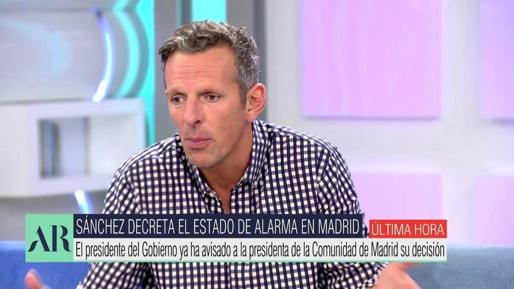Joaquín Prat estalla contra las críticas a los madrileños