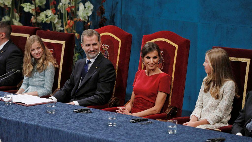 Se confirma la presencia de los reyes y sus hijas en los tres días de actos por los Premios Princesa de Asturias