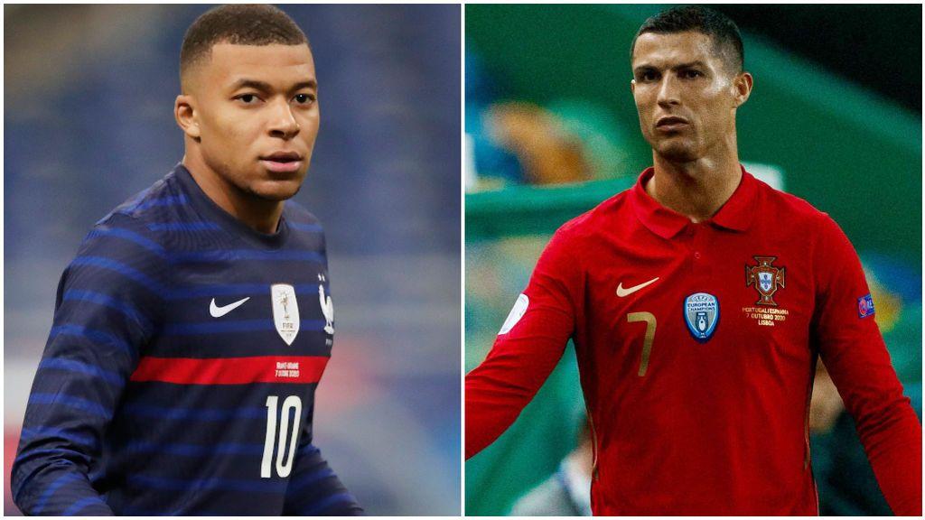 Mbappé vs Cristiano: Francia - Portugal se juegan el liderato de su grupo en la UEFA Nations League, este domingo a las 20.45h. en Cuatro y mitele.es