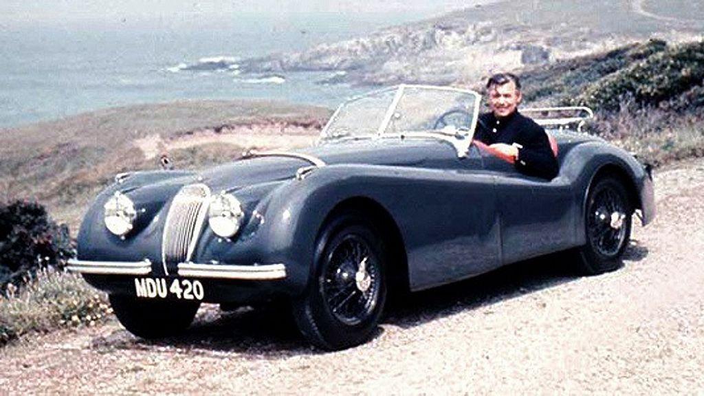 Jaguar XK120, el coche que obsesionó a Clark Gable
