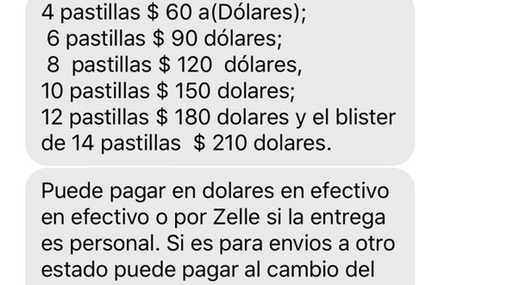mensaje precios venezuela