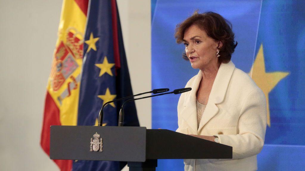 Calvo preside el Consejo de Ministros que decide el estado de alarma en Madrid