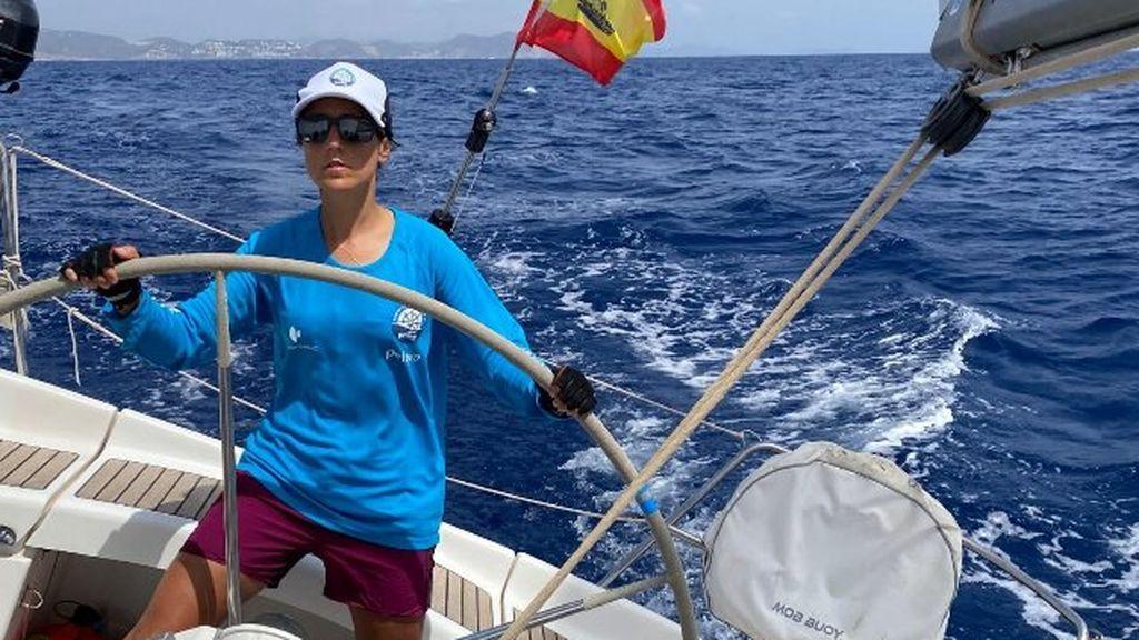 María Aldama, partipante expedición Reto Pelayo Vida 2020.