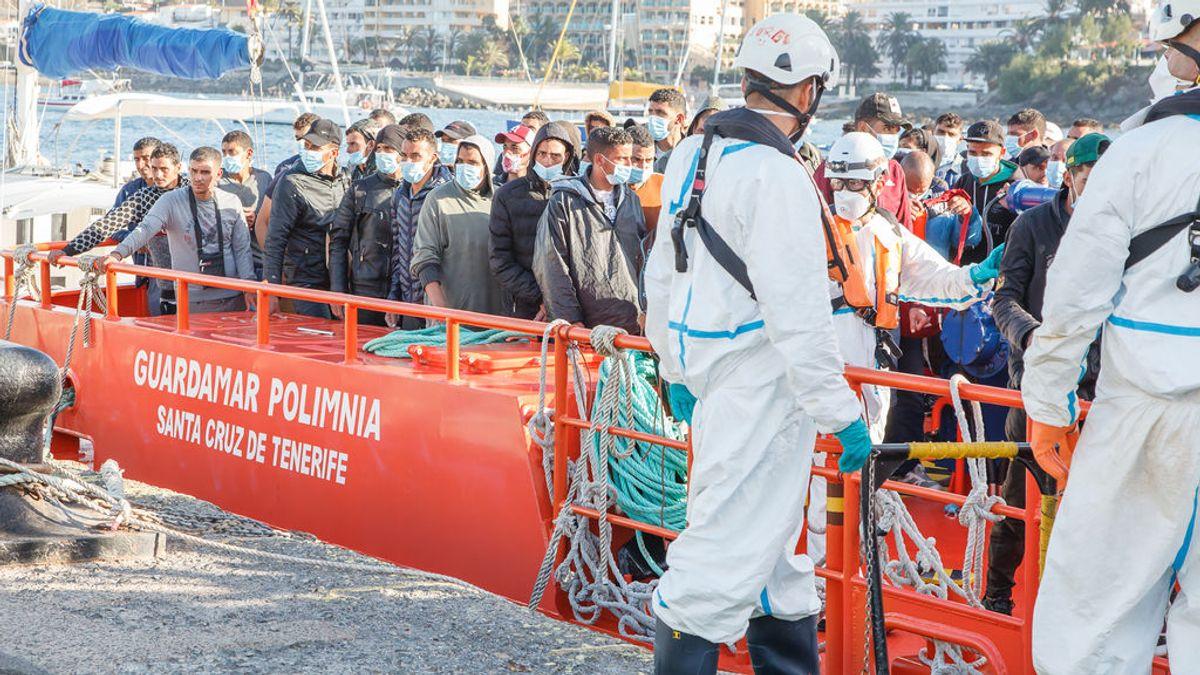 Canarias recibe 1.105 inmigrantes en las últimas 36 horas