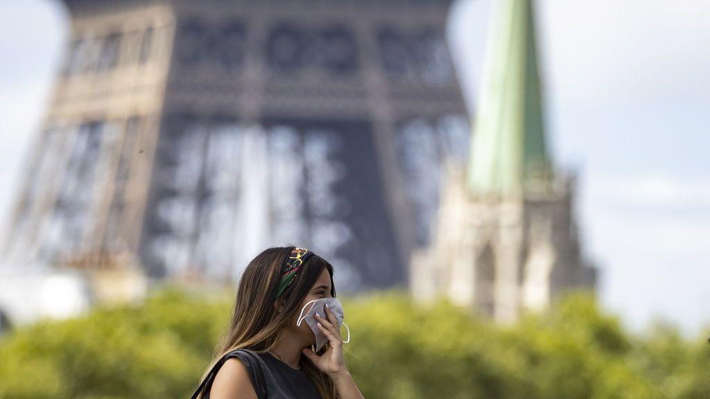 Mascarillas en París