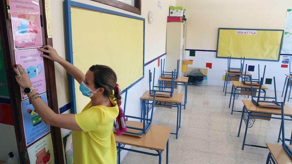 Crecen significativamente los contagios por coronavirus entre menores en Andalucía