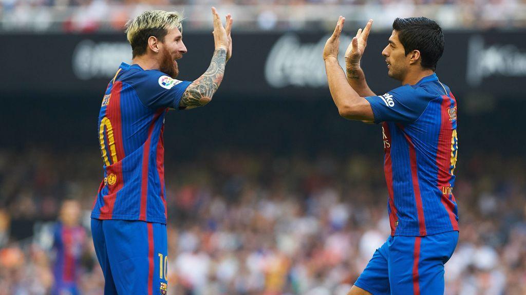 """Luis Suárez habla sobre su salida del Barça y el futuro de Messi: """"Me querían sacar de al lado de Messi"""""""